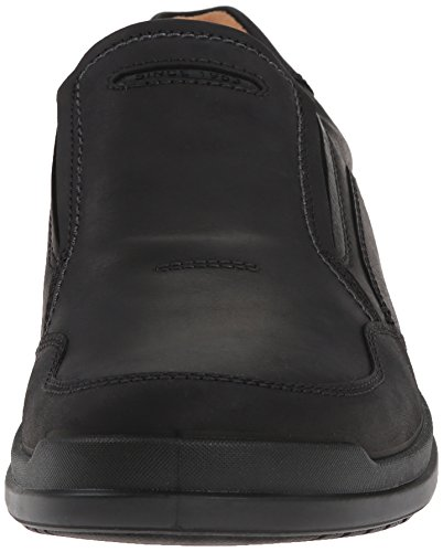 hombre ECCO Zapatos Howell para Black2001 de casuales Negro cuero Fff7qz6x