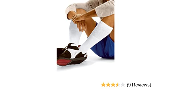Hanes Over-the-Calf Active Tube Socks 6 Pack, 6-12-Grey at Amazon Mens Clothing store: Athletic Socks