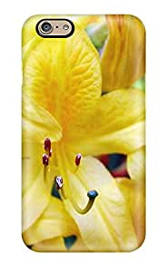 Scott Duane knutson's Shop Rugged Skin Case Cover For Iphone 6- Eco-friendly Packaging(yellow Flowers) 1345697K25628279