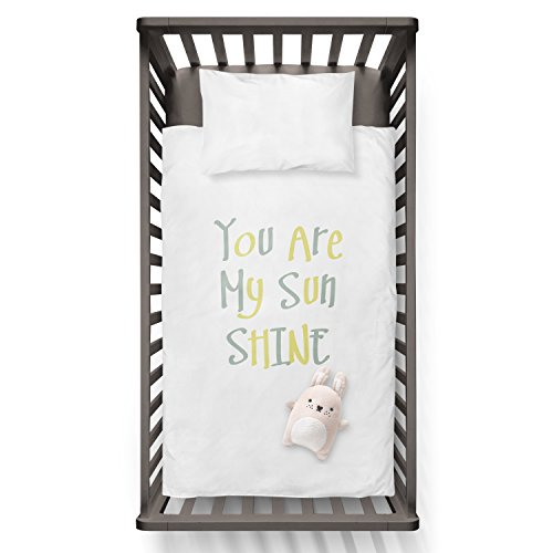 You Are My Sun Shine Funny Humor Hip Baby Duvet /Pillow set,Toddler Duvet,Oeko-Tex,Personalized duvet and pillow,Oraganic,gift by Jobhome