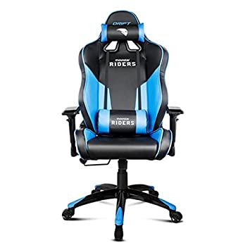 Drift Movistar Riders - Silla de oficina, color negro y azul: Amazon ...