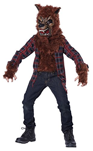Werewolf Kids Costumes (California Costumes Blood Moon/Child Costume, X-Large)
