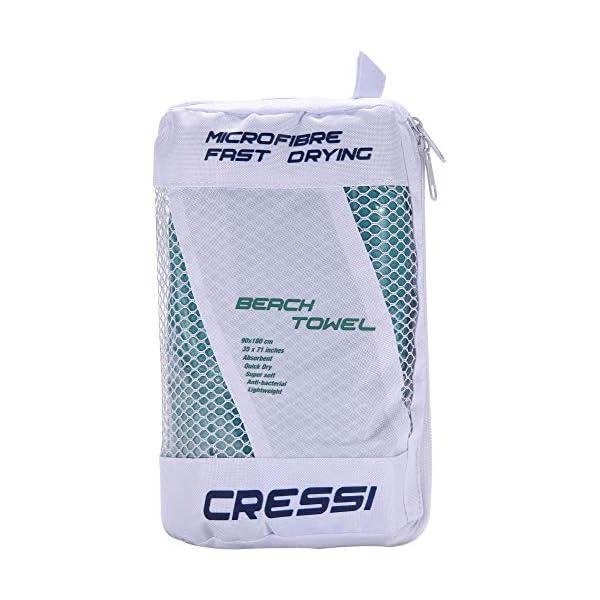 Cressi Fast Drying, Asciugamano/Telo Sportivo in Microfibra, Vari Colori e Misure Unisex Adulto 2 spesavip