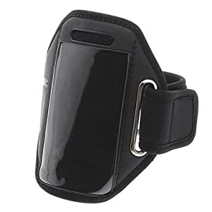 Water Resistant Protective Pouch with Armband for iPhone 5/5S (Black)