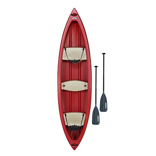 - Lifetime Kodiak Canoe with 2 Paddles, Red, 13'