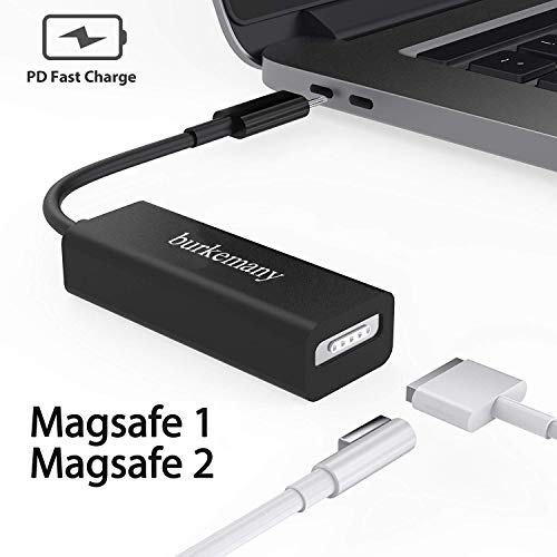 Compatible MagSafe USB Type C Converter Replacement for MagSafe 2 & 1 Charging Adapter Applicable for MacBook Pro 15