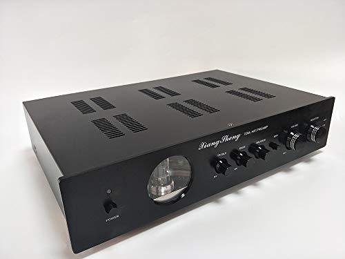 XiangSheng 728A Pre-Amplifier Tube preamplifier Shigeru WADA Japan Electrical Circuit Preamp with Tone Control Upgrade(Black)