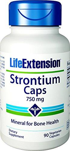 (Life Extension Strontium, 750 mg,  90 Vegetarian)