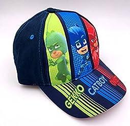 6873213aead75 PJMasks Boys Hat Baseball Cap Gekko Catboy Owlette Blue