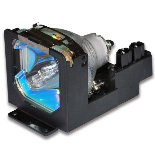 LV-LP10 Replacement Lamp with Housing for LV5100 LV-5100 for Canon Projectors (Lp10 Lv Replacement)