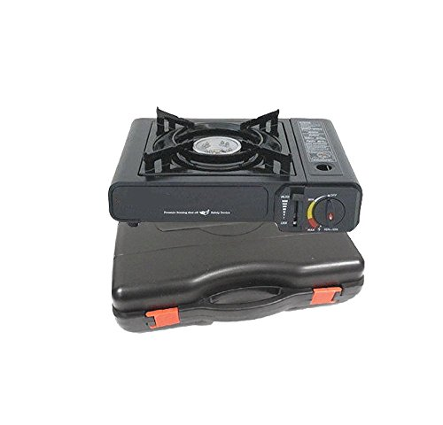 M.V. Trading GS-1 Deluxe Butane Burner Stove with Free Case (Butane One Burner Stove compare prices)