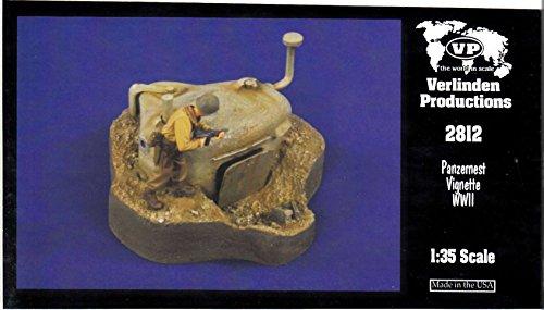 VER2812 1:35 Verlinden Vignette - Panzernest WW2