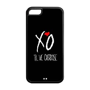 XOXO Solid Rubber Customized Cover Case for iPhone 5/5s 5/5s-linda298