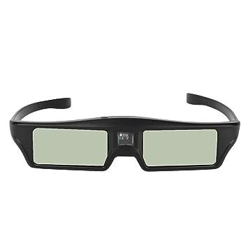 Bewinner 8M DLP Link Gafas 3D para proyectores DLP-Link 3D, 1080P ...