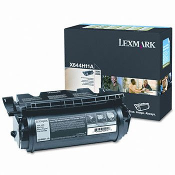 X644H11A High-Yield Toner, 21000 Page-Yield, Black