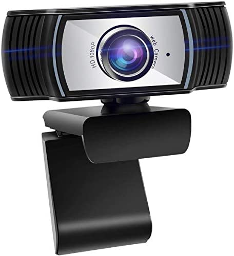 ANTZZON HD 1080P internet cam: USB pc digicam & webcam with microphone for desktop pc streaming | video Conference Compatible - Zoom | Skype | Facetime | Youtube