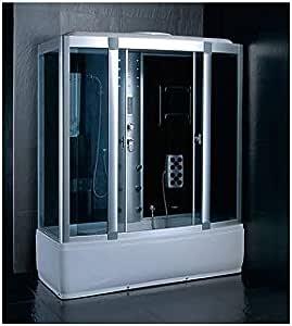 Symi II - Bañera de ducha (150 x 85 x 225 cm): Amazon.es: Bricolaje y herramientas