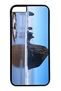 For Case Samsung Note 4 Cover Case, Personalized Unique Design Protective For Case Samsung Note 4 Cover PC Black Edge Case - Haystack Rock