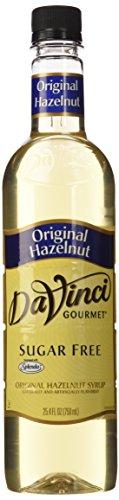 - Da Vinci Sugar Free Original Hazelnut Syrup 25.4 oz