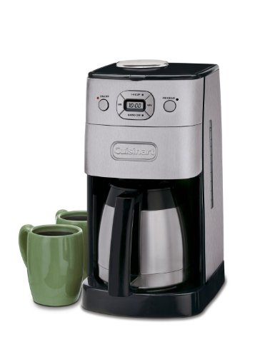 Cuisinart Coffee Maker Thermal Carafe Problems : Cuisinart DGB-650BCFR 10 Cup Grind-and-Brew Thermal Automatic Coffeemaker in Brushed Metal ...