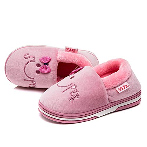 Fille Chaussons Violet Pour shoes Huili q40T6wU6