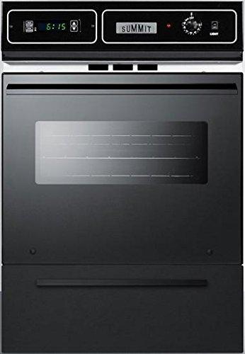 Summit TTM7212KW Kitchen Cooking Range, Black by Summit Appliance