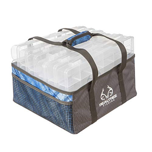 i8 Bait Tray Tote Realtree Fishing Blue