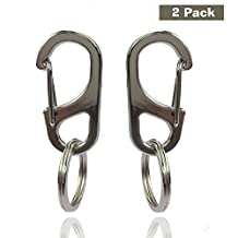 Lion-Royal Dog Tag Clip, Easy Change Pet ID Tag Holder For Dogs & Cats Collars and Harnesses (2 Pack).