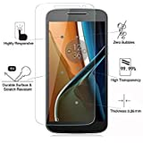 QuaGlass Tempered Glass Screen Protector For Motorola Moto G4 / Moto G 4 / Moto G 4th Generation / Moto G (2016)