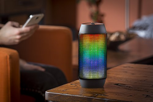 SoundLogic XT BCCS-6/6395 Portable Rechargeable Wireless Bluetooth Rave Dance Party Speaker with LED Light Show and Built in Microphone, for iPhone, iPad, Samsung, Nexus, HTC and More