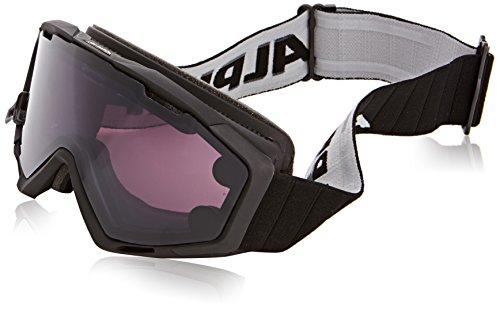 Alpina Lunettes de ski pour adulte panoma S Magnetic Q Plus S taille unique Noir mat