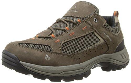 Vasque Men's Breeze 2.0 Low Hiking Shoe, Black Olive/Rust, 11.5 W US