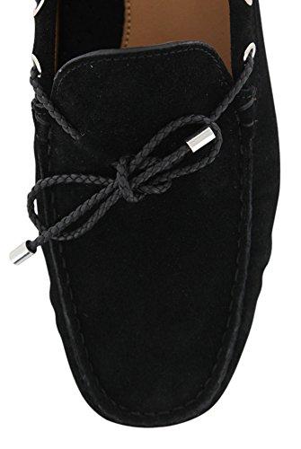New Fiori Di Lusso Black Suede Shoes