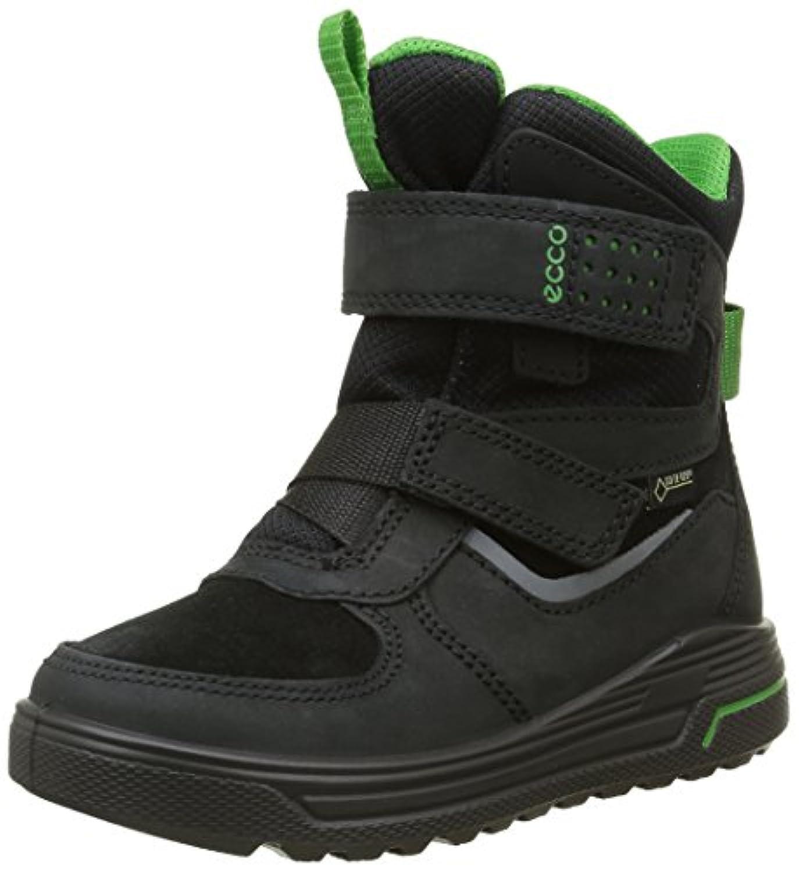 Ecco Boys' Urban Snowboard Ankle Boots, Black (Black/Black/MEADOW52562), 1 Child UK