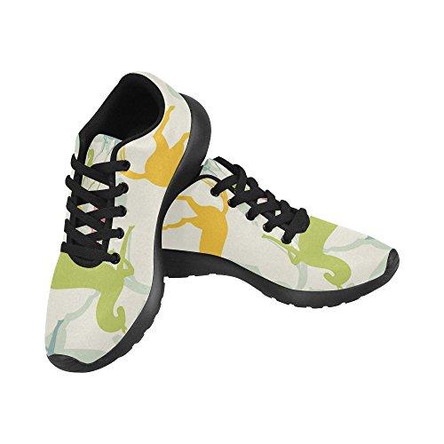 Interesprint Mujeres Road Running Zapatos Jogging Ligero Deportes Walking Athletic Sneakers Cute Horse