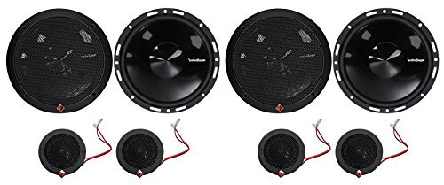 2-Pairs Rockford Fosgate P165-SI Punch 240w 6.5