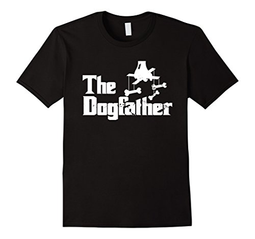 Mens The Dogfather | Dog Lover T-Shirt | Father's Day Gift Idea XL - & Co Dogfather