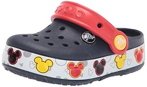 Crocs Unisex-Child Crocband Mickey Fnlb Lights K Clog