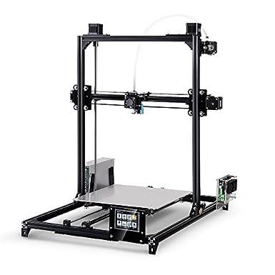Impresora 3D Plus Prusa i3, kit dual DIY nuzzle, pantalla táctil, autonivelación, gran impresión 3D, una gran variedad de regalos perfectos y completos, ...