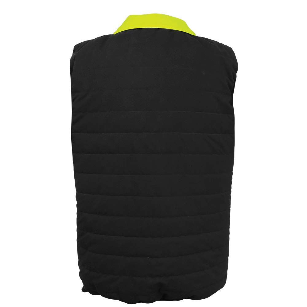 4X-Large High-Visibility Reversible Insulated Safety Vest FrogWear HV Global Glove GLO-V1