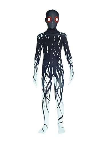 Morphsuits KPZAL Slender Man Kids Morphsuit Costume Large 4'-4'6 / 10-12 (Suit Costumes Halloween)