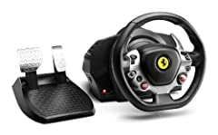 Thrustmaster TX Racing Wheel Ferrari 458 Italia Edition The Ultimate Racing Simulator for Xbox OneThe Force Feedback wheel features a brushless industrial motor with a detachable wheel and metal pedal set. The core product of the TX R...