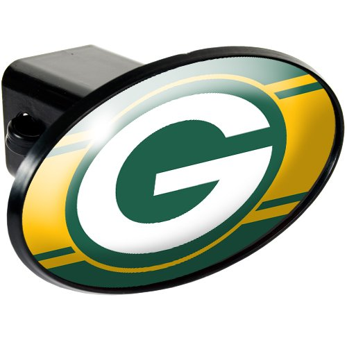 Great American Products Green Bay Packers NFL Metal Helmet Trailer Hitch Cover