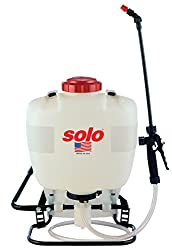 Solo 425 4-gallon Professional Piston Backpack Sprayer, Wide Pressure Range Up To 90 Psi