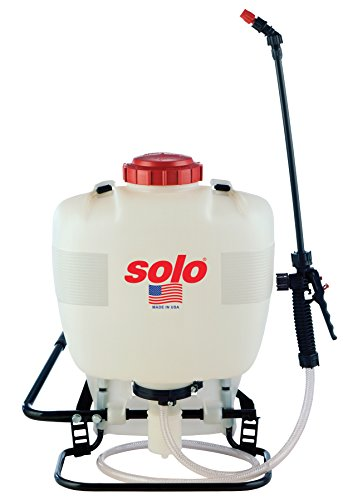 Solo 425 4-Gallon Professional Piston Backpack Sprayer, Wide Pressure Range up to 90 (Backpack Piston Pump Sprayer)