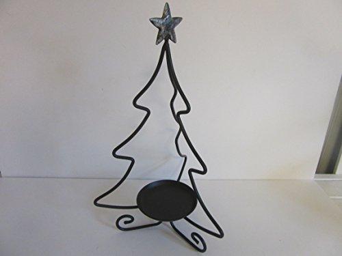 Longaberger Wrought Iron Tree With Star Votive Pillar Holder