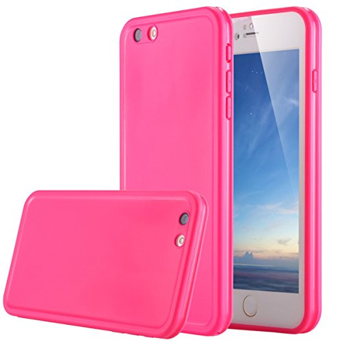 Waterproof and Shockproof Case for iPhone 6/6s (Pink) - 7