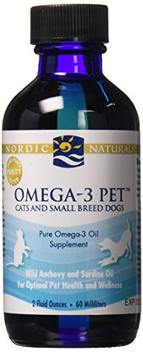 Nordic Naturals Omega-3 Pet Cats & small Dog Breeds nutrients, 2 oz