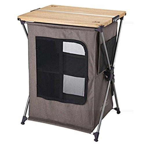 [Kovea Vivid Cabinet Camping Table KECT9FG-03 / Camping Cabinet / Outdoor Cabinet / Sports Cabinet] (70s Jewellery Disco)