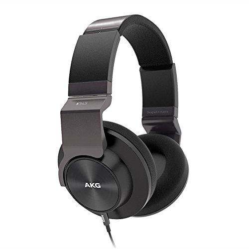 AKG K545 BLK Studio-Quality, Closed-Back, Over the Ear Headphones (Black)